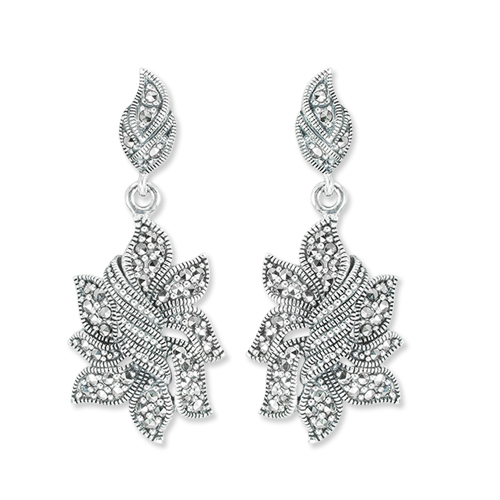 You Should Definitely Invest in These Vintage Marcasite Earrings!