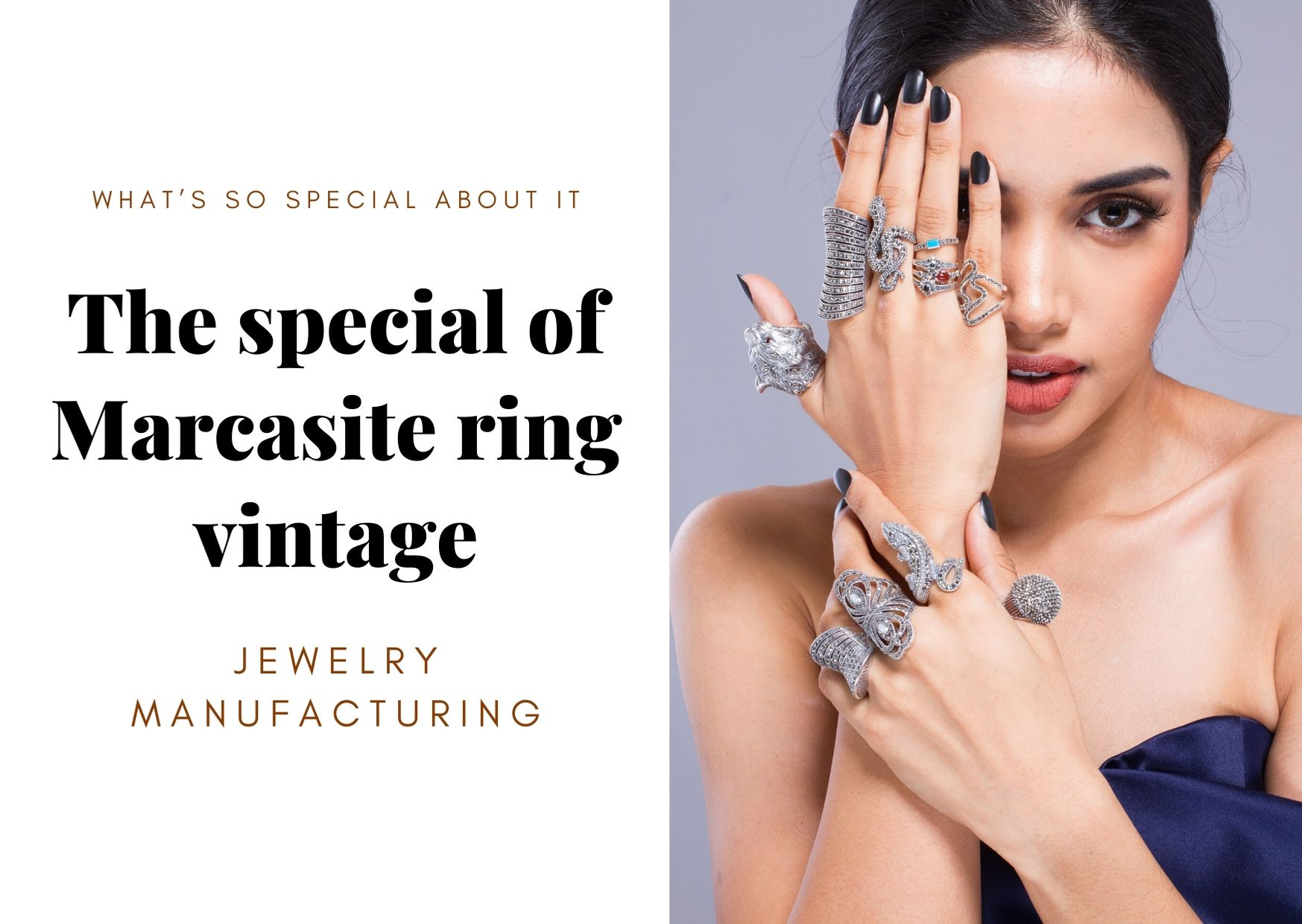 Vintage Marcasite Ring Jewelry What's So Special About it